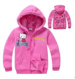 LaraModa Hello Kitty Sweatvest - roze