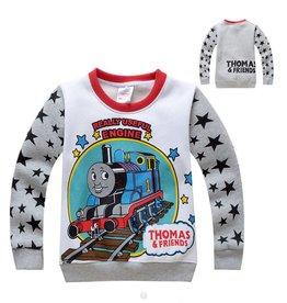 LaraModa Thomas en Vrienden Sweater - grijs