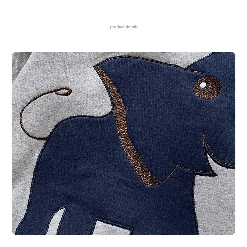 Jongenskleding Olifant Jongens Sweater - grijs