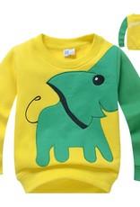 Jongenskleding Olifant Jongens Sweater - geel
