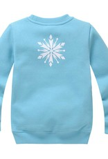 LaraModa Disney Frozen Meisjes Sweater - lichtblauw