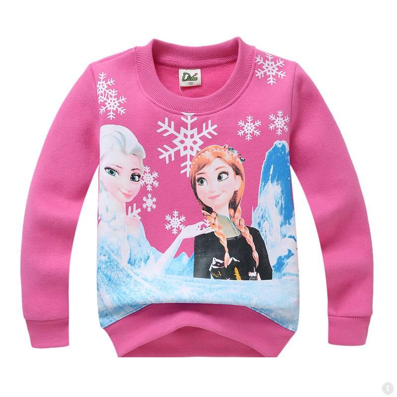 LaraModa Disney Frozen Meisjes Sweater - roze