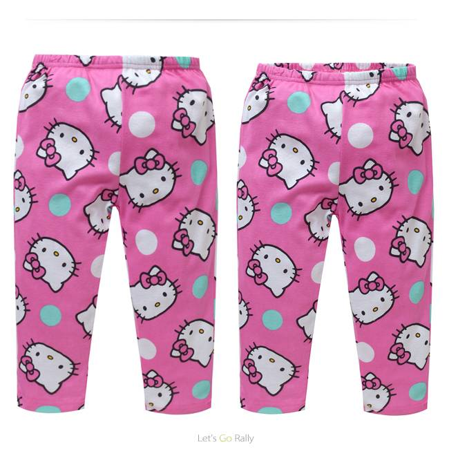 Meisjespyjama's Hello Kitty Meisjes Pyjama - roze / geel