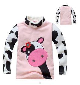 Meisjeskleding Koe Sweater - roze