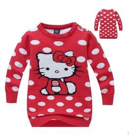 LaraModa Hello Kitty Trui - rood