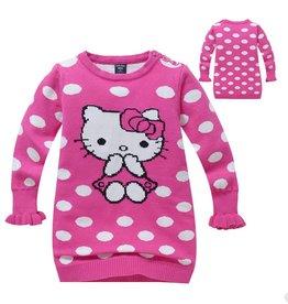 LaraModa Hello Kitty Trui - roze