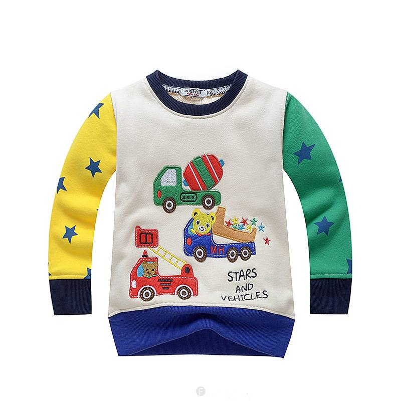 Jongenskleding Beertjes Stars and Vehicles Jongens Sweater