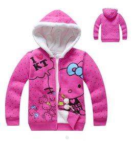 LaraModa Hello Kitty Sweatvest 2 - roze