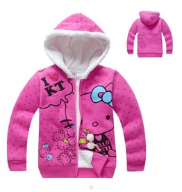 Meisjeskleding Hello Kitty Sweatvest 2 - roze