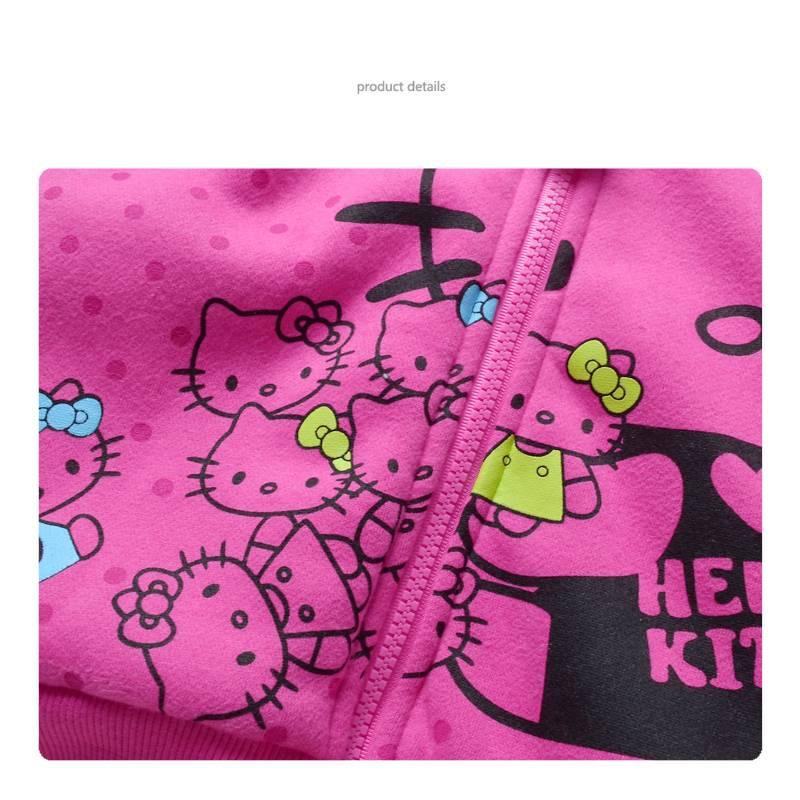 Meisjeskleding Hello Kitty Meisjes Sweatvest 2 - roze
