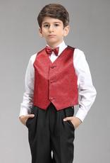 Jongenskleding Jongenskostuum Thomas - zwart / rood