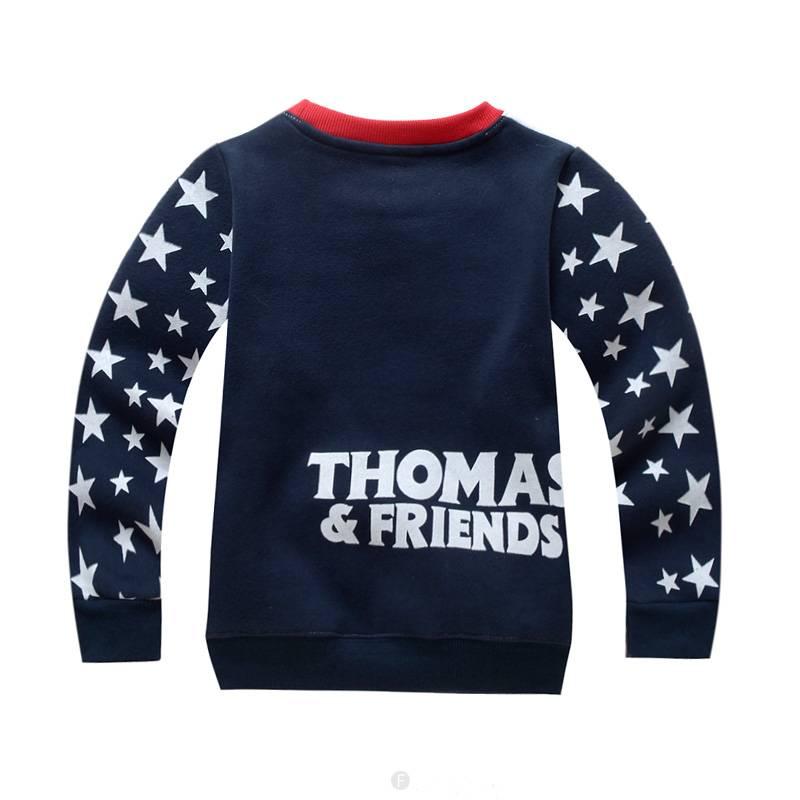 Jongenskleding Thomas en Vrienden Jongens Sweater - donkerblauw