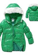 Meisjeskleding Meisjesjas - groen