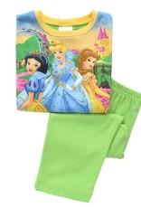 Meisjespyjama's Disney Princess Meisjes Pyjama - groen