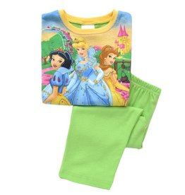 LaraModa Disney Princess Pyjama - groen