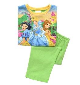 Meisjespyjama's Disney Princess Pyjama - groen