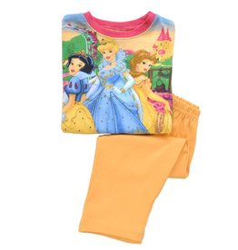 Meisjespyjama's Disney Princess Pyjama - oranje