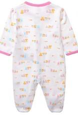 Babykleding Konijntje Meisjes Boxpakje - wit / roze
