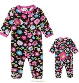Babykleding Bloemetjes Boxpakje - roze / blauw / zwart