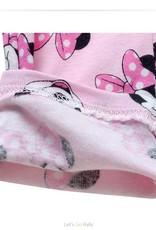 Meisjespyjama's Minnie Mouse en stippen Meisjes Pyjama - roze