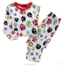 Jongenspyjama's Angry Birds Pyjama - wit
