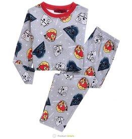LaraModa Angry Birds Star Wars Pyjama - grijs