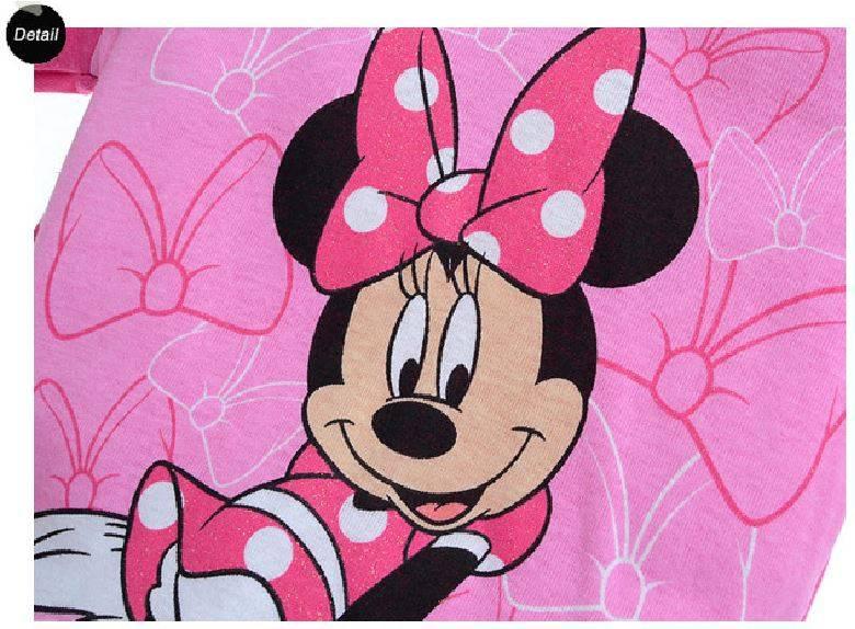 LaraModa Minnie Mouse Meisjes Pyjama - roze