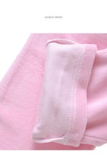 Meisjespyjama's Barbie Meisjes Pyjama - fleece - grijs / roze