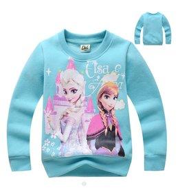 Meisjeskleding Disney Frozen Sweater - hemelblauw