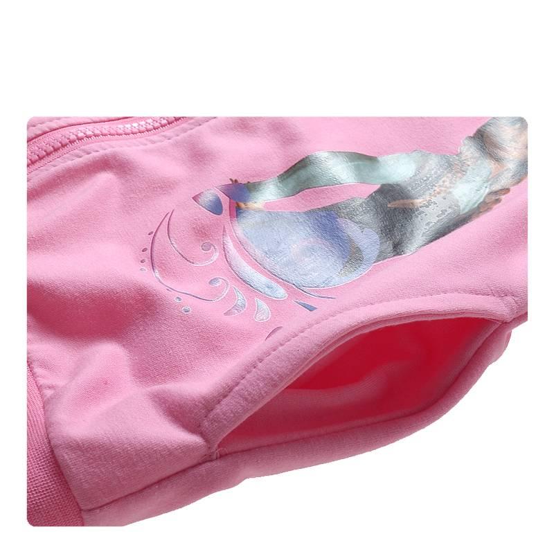 Meisjeskleding Frozen Meisjes Sweatvest 7 - roze
