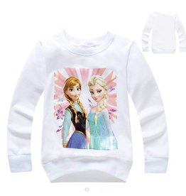 Meisjeskleding Frozen Sweater 3 - wit