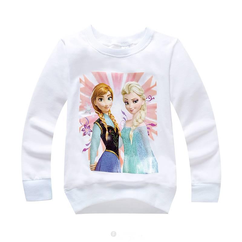 Meisjeskleding Frozen Meisjes Sweater 3 - wit
