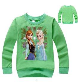 Meisjeskleding Disney Frozen Sweater 3 - groen