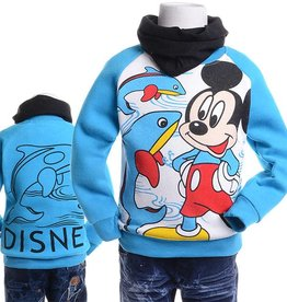 LaraModa Mickey Mouse Sweater 2 - blauw