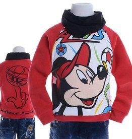 LaraModa Mickey Mouse Sweater 3 - rood
