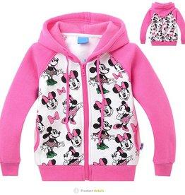 Meisjeskleding Minnie Mouse Sweatvest 3 - roze