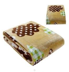 Kinderdekens Schapen Fleece Kinderdeken 150x220 cm - beige