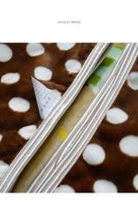 Kinderdekens Schapen Fleece Kinderdeken 150x220 cm - beige