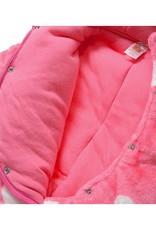 Babykleding Zebra Meisjes Boxpakje met capuchon - roze