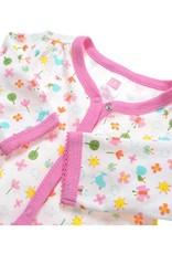 LaraModa Vlinder Meisjes Boxpakje - wit / roze