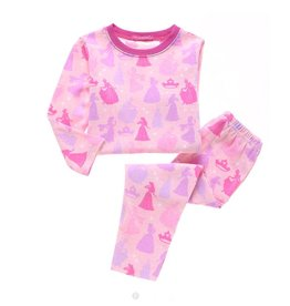 Meisjespyjama's Disney Prinsesjes Pyjama 2 - roze