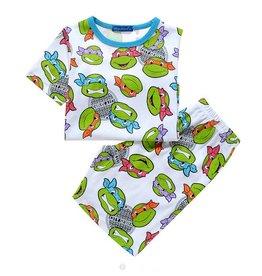 LaraModa Teenage Mutant Ninja Turtles Pyjama - wit