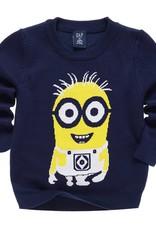 LaraModa Minions Jongens Sweater - blauw
