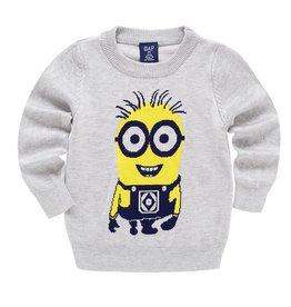 Jongenskleding Minions Sweater - grijs