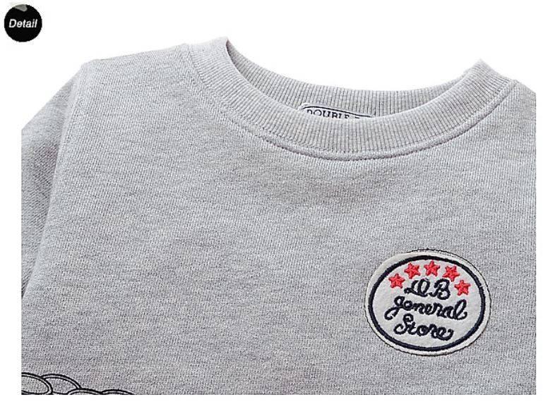 LaraModa Beertjes Supermarkt Jongens Sweater - grijs