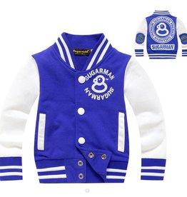Jongenskleding Baseball Jack - blauw / wit
