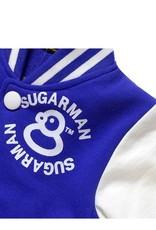 Jongenskleding Jongens Baseball Jack - blauw / wit