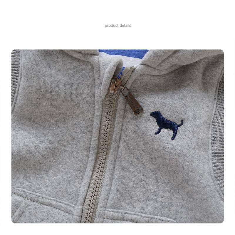 Jongenskleding Puppy Jongens Bodywarmer - grijs