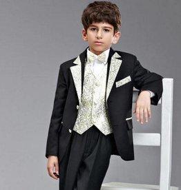 Jongenskleding Jongenskostuum Thomas - zwart / goud