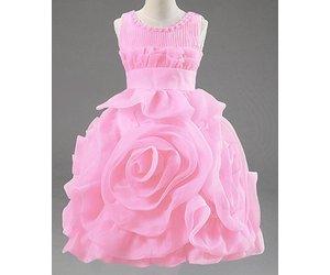 Licht Roze Jurkje : Bruidsmode kinderen meisjes feestjurk rosalin lichtroze